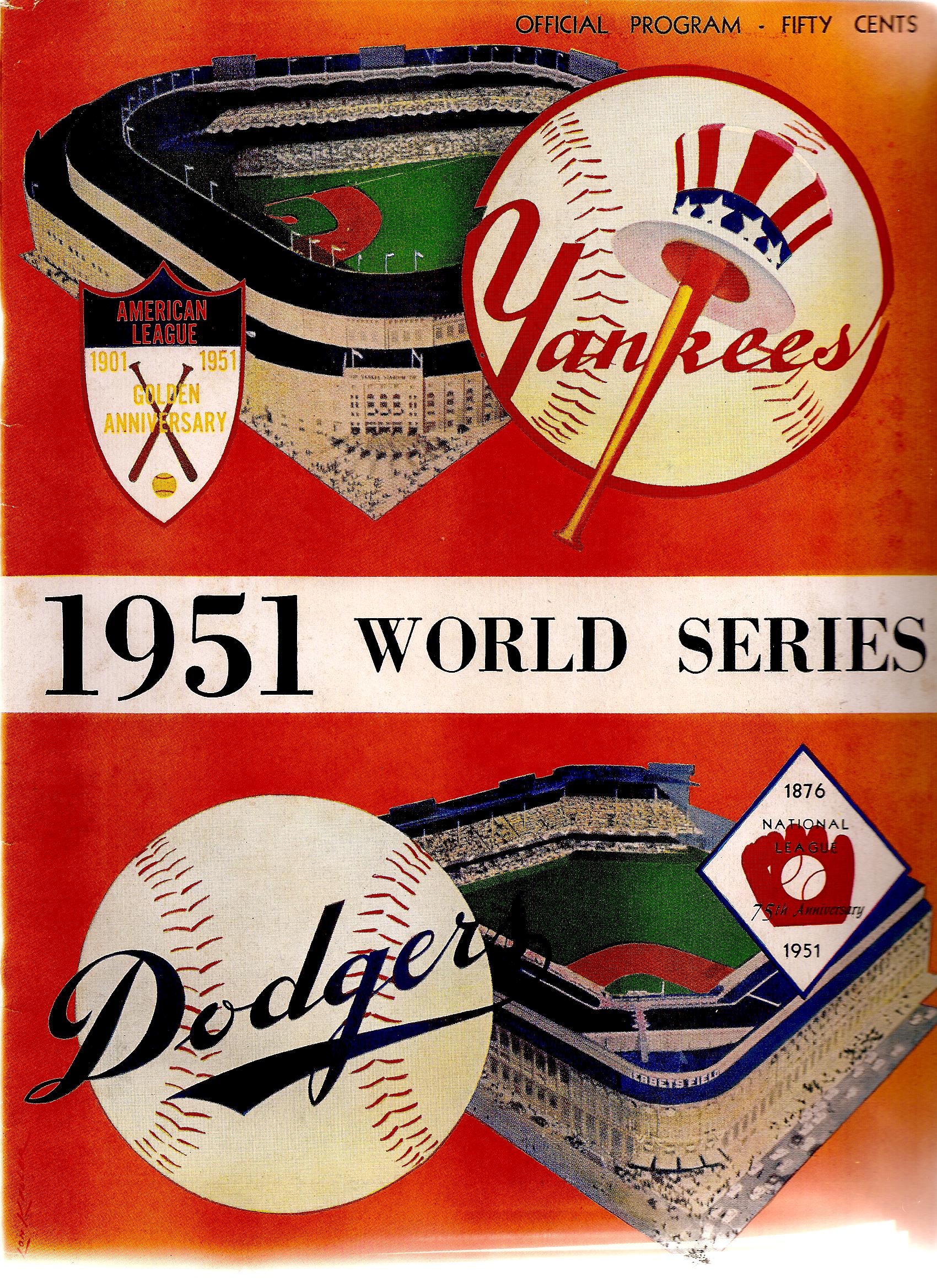 1951 brooklyn dodgers baseball nerd