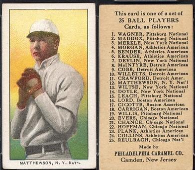 Christy Mathewson Baseball Nerd