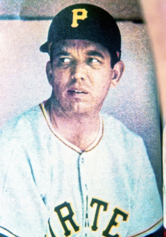 Bobby Bragan, Pirates' Manager, 1956 or 1957 (source unknown)