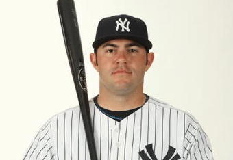 """""""Picking at the seams?"""" - P.J. Pilittere, in later days in major league camp with the Yankees."""